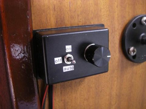 Thermostat monté