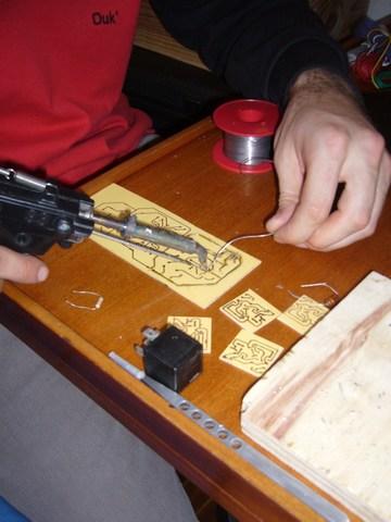 Etamage du circuit imprimé