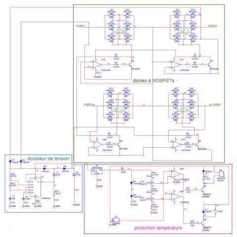 Schéma électrique du répartiteur