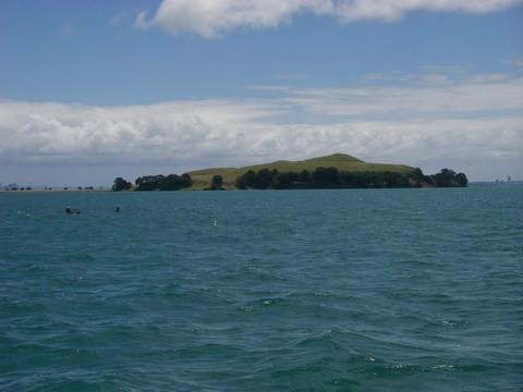 Browns Island, toujours aussi belle, sur le chemin