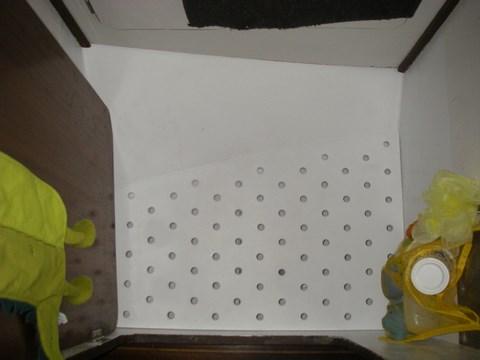 Et voilà, plancher installé et prêt pour les premiers tests
